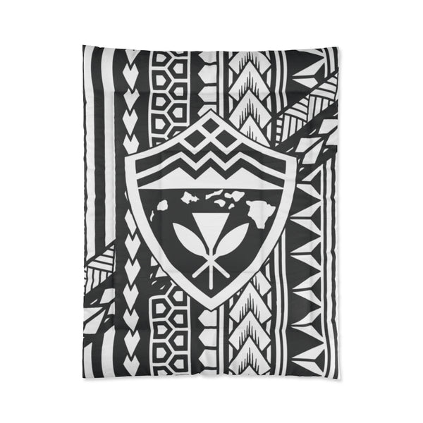 Hawaii Tribal Shield Comforter