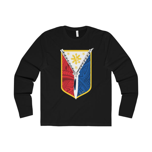 Balisong Shield Long Sleeve Crew Tee