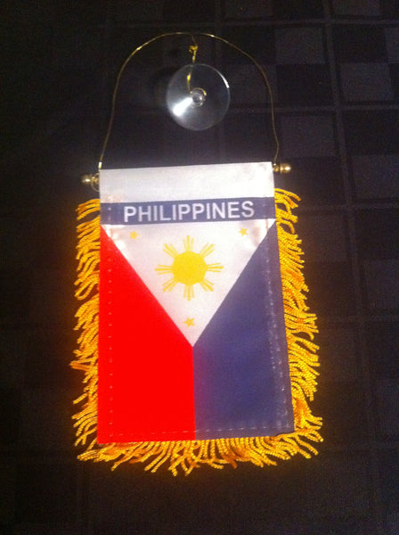 PHILIPPINES CAR FLAG