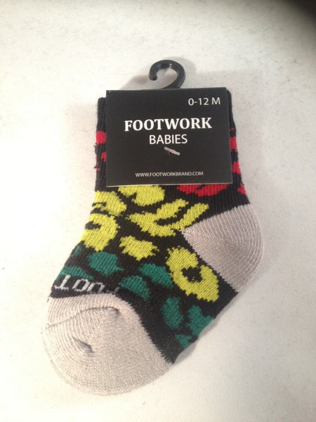 LEOPARD RASTA KIDS SOCKS
