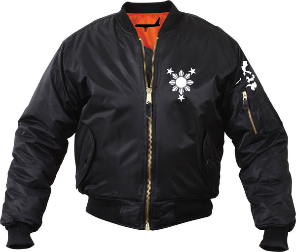 Sun and Stars Bomber Mens Jacket