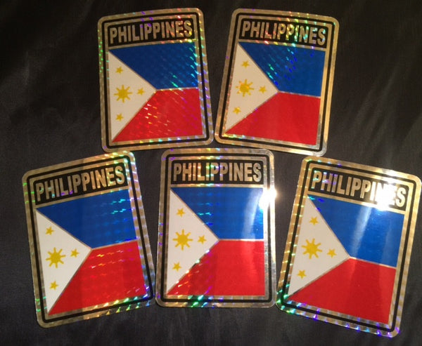 PHILIPPINES REFLECTIVE DECAL