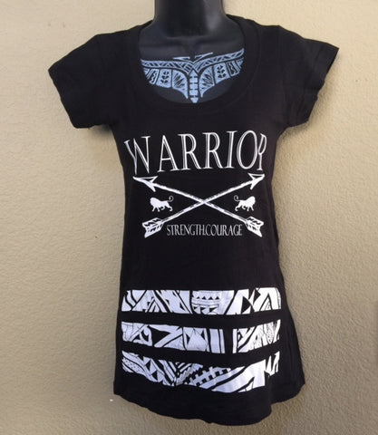 A TRIBAL BARS WARRIORS BABY TEE