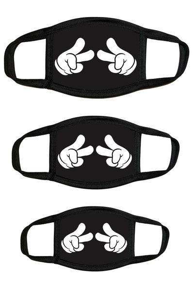 Hand Peace Protective Dust masks