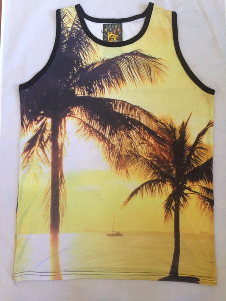 SUNRISE AND SUNSET TANK TOPS