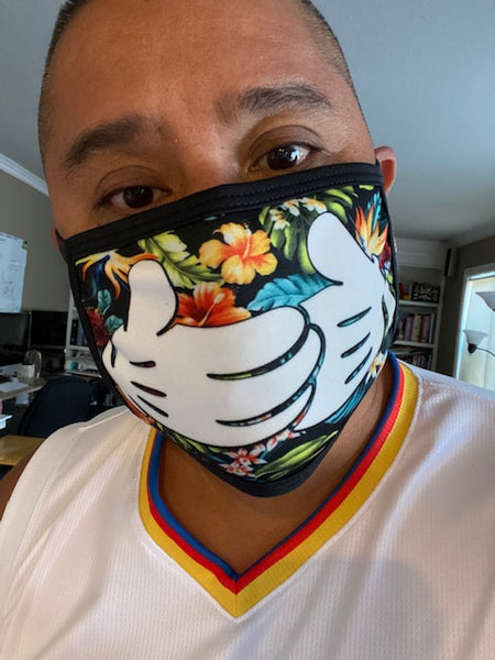 Floral Hands Protective Dust masks (Limited Edition)