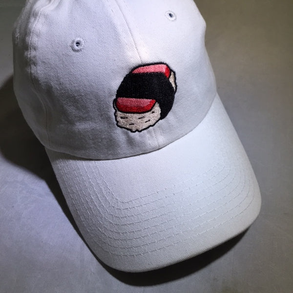 A SPAM MUSUBI DAD HAT