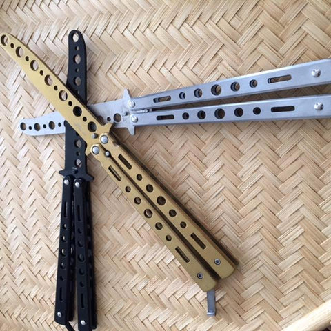 Balisong Steel Trainers