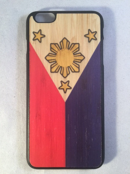 Philippines Flag Wood IPhone 6 and iPhone 6 PLUS Case