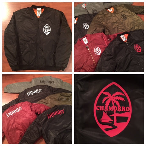Chamorro Islander Bomber Mens Jacket Sale