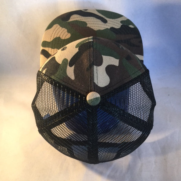 A 3 Star and Sun CAMO TRUCKER