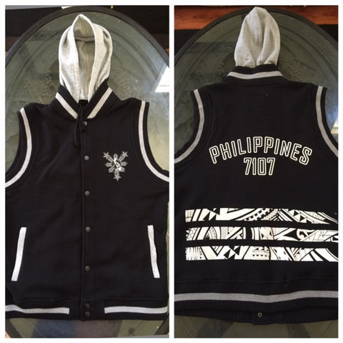 7107 PHILIPPINES SLEEVELESS HOODIES (SOLD OUT)