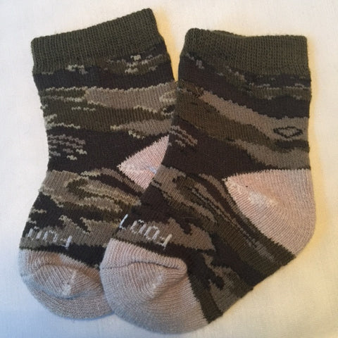 DESERT CAMO KIDS SOCKS