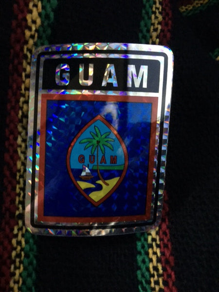 GUAM REFLECTIVE DECAL