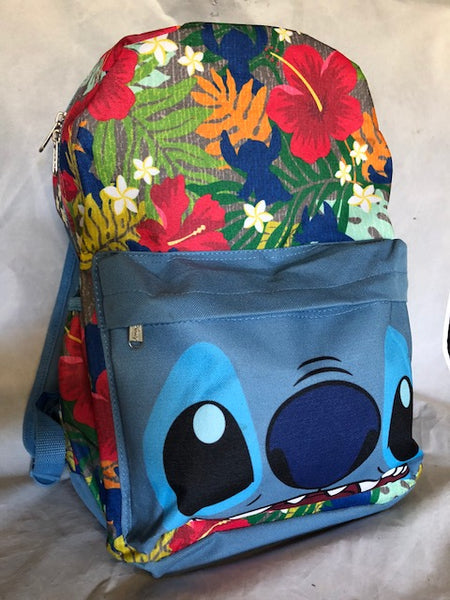 Stitch Floral Backpack