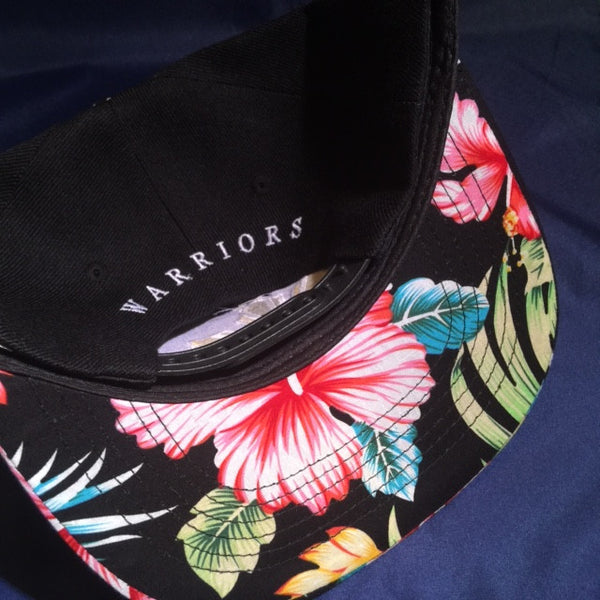Warriors Sun  Floral Brim