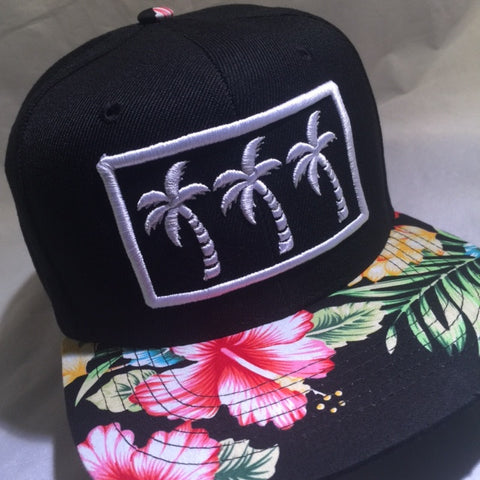 3 PALMS FLORALS LIMITED SNAPBACKS