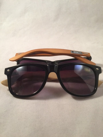 BAMBOO LINE WOOD TRIBAL SPECTACLES