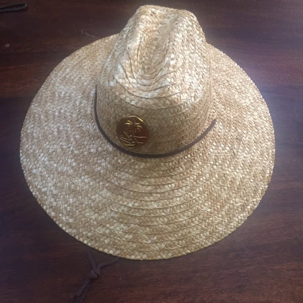 Guam Summer Shade Steel Straw Hat