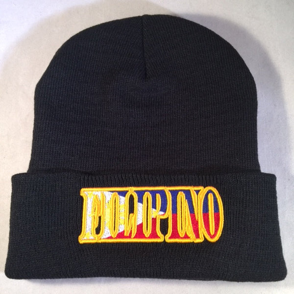 A FILIPINO FLAG BEANIE