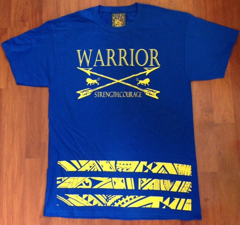 A Warriors Tribal Bar Tee