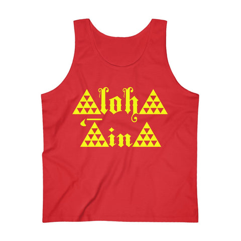 Aloha Aina Men's Ultra Cotton Tank Top
