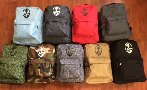 A GUAM ISLANDER 180 BACKPACK COLLECTION