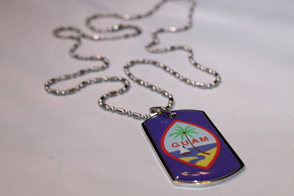Guam Seal Dog Tags
