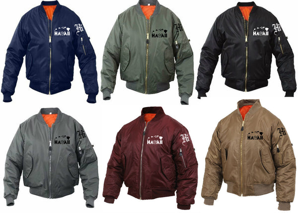 A Hawaii Shaka Kids Bomber Jackets
