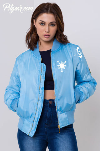 3 Stars and Sun Bomber Womens Jackets