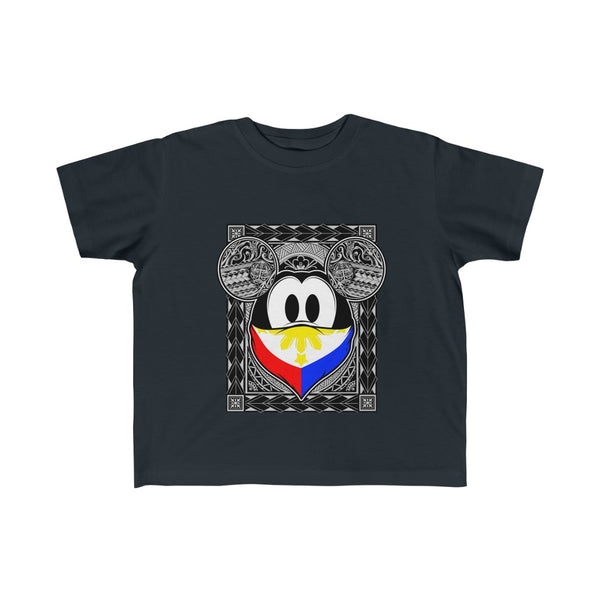 Philippines Tribal Mouse Kid's Fine Jersey Tee