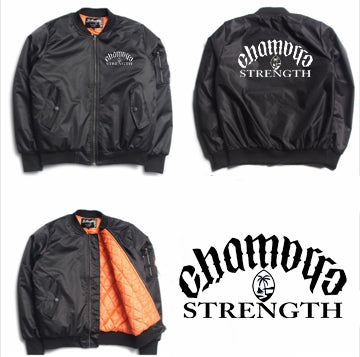 Chamorro Strength Bomber Mens Jacket sale
