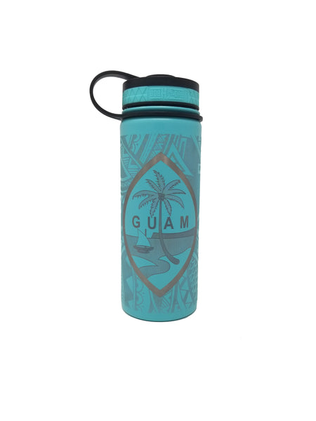 Guam Tribal Flask