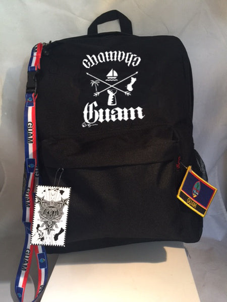 A Guam Elements Backpack Collection