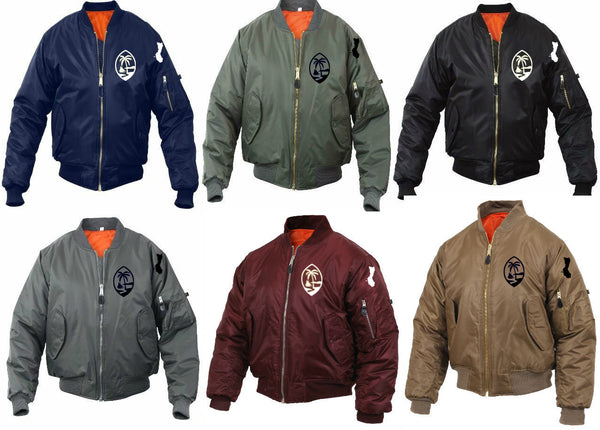 Guam Palm Bomber Mens Jacket Sale