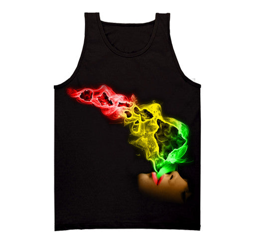 HAWAII RASTA SMOKE TANK TOP
