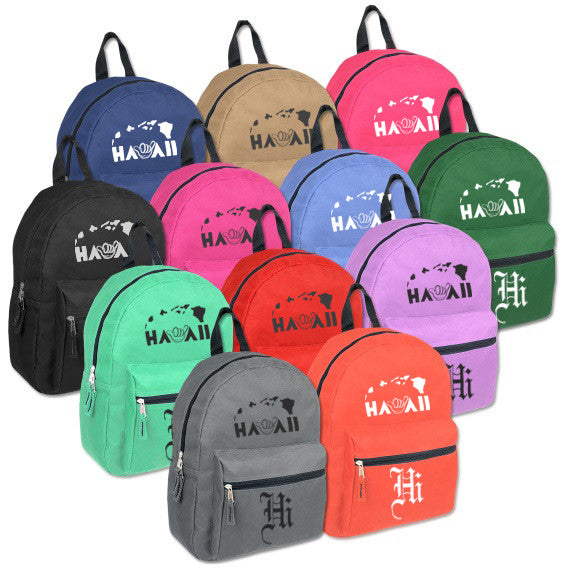 Hawaii Shaka Hi Backpack Collection