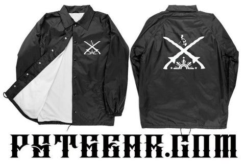 Swords and Suns Windbreaker Jacket
