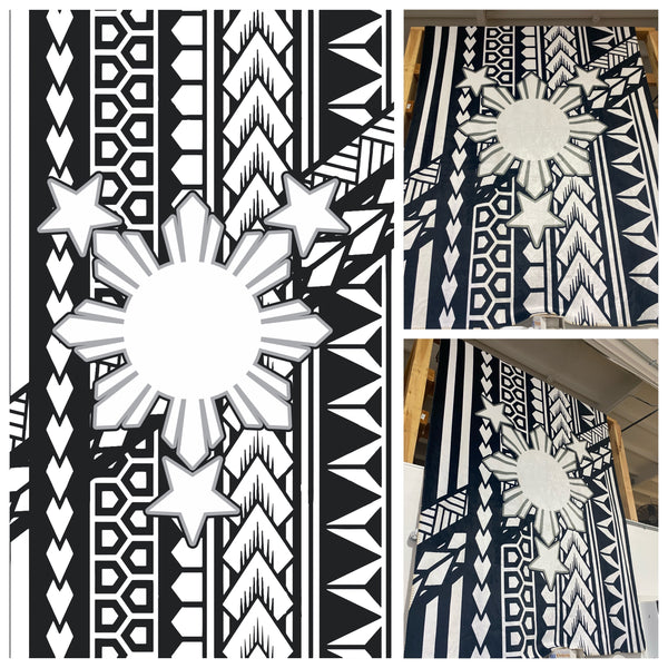 Filipino Tribal Sun Blanket Collection