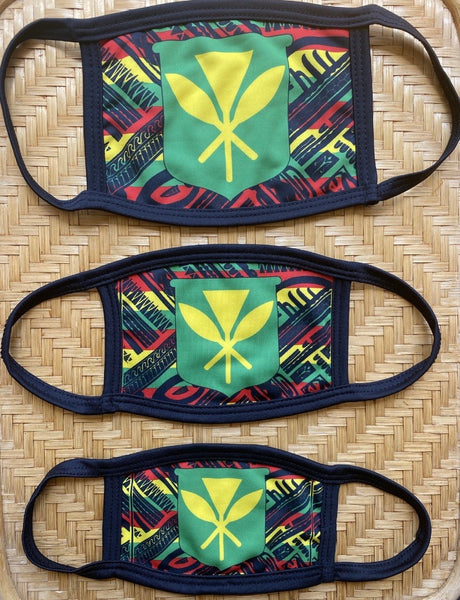 Hawaii Tribal Combo Protective Dust masks and Wrap (Limited Edition)