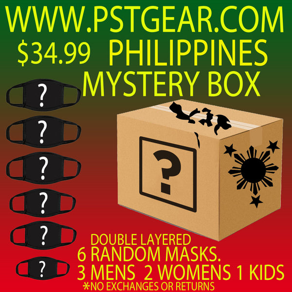 Mystery Box Philippines Protective masks