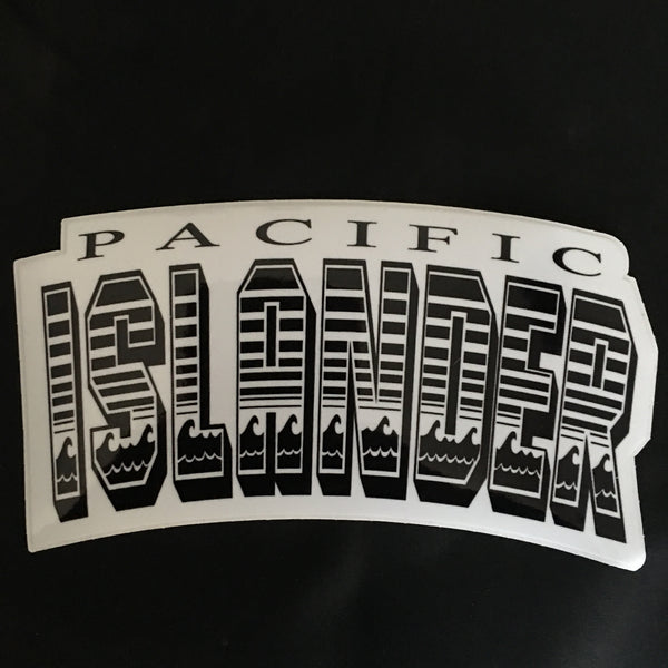 Pacific Islander Wavy Sticker