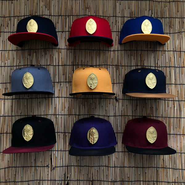 Guam Steel Two Tone Snapbacks
