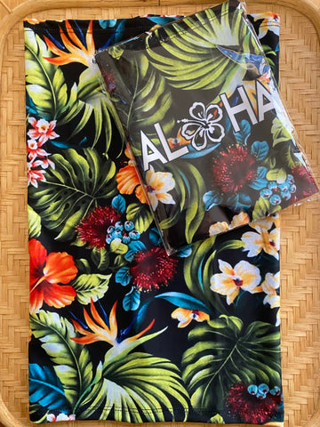 Aloha Floral Tubular Wrap Limited