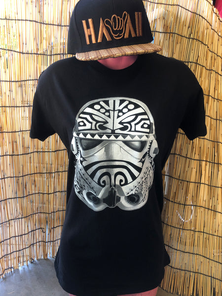 Tribal Trooper Baby Tee