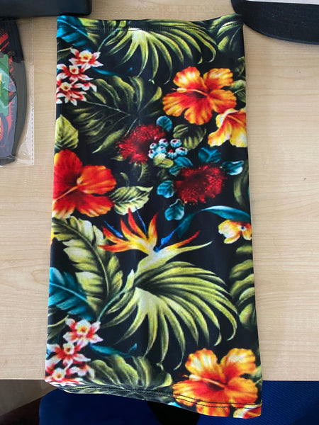 Guam Palm Floral Tubular Wrap