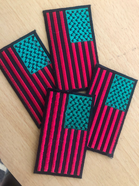 IRIE AMERICA FLAG PATCH