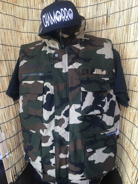 Islander Camo Sleeveless Jackets