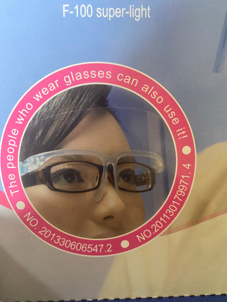 Plastic Glasses Shield Mask
