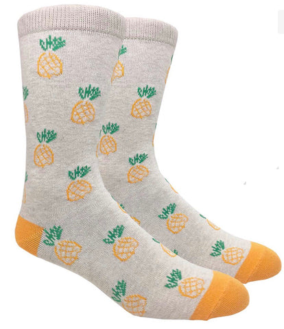 A PINEAPPLE SOCK (Creme)